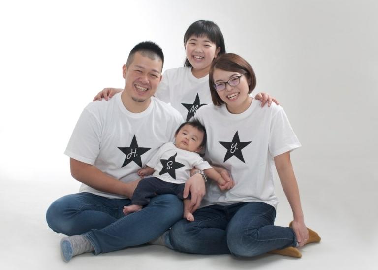 赤ちゃん記念:家族一緒に!