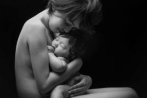 母子像フォト