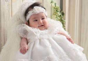 赤ちゃん記念撮影