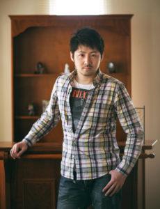富士フィルム営業写真コンテスト入賞作。男性ポートレート写真