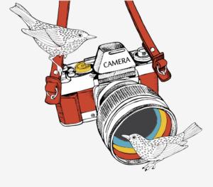 あさかぜ写真館カメラロゴ