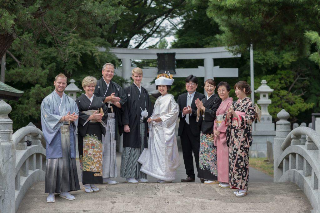 ご婚礼:親族一同:亀田八幡宮